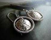 Roundness  -   sterling silver hoop earrings