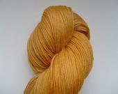 Gold Into Straw - Superwash Merino Sock Yarn - UK Seller
