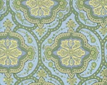 Cotton Quilting Fabric | Amy Butler fabric | Charm Sage Covington Tile
