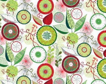 Wrenly Christmas Ingrid Pine fabric | Valori Wells - PWVW032.Pine | Last piece