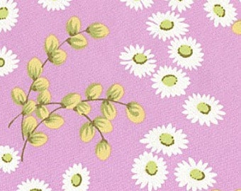 Cotton Quilting Fabric | Amy Butler fabric | Ginger Bliss Pink Daisy Willow 1/2 yard