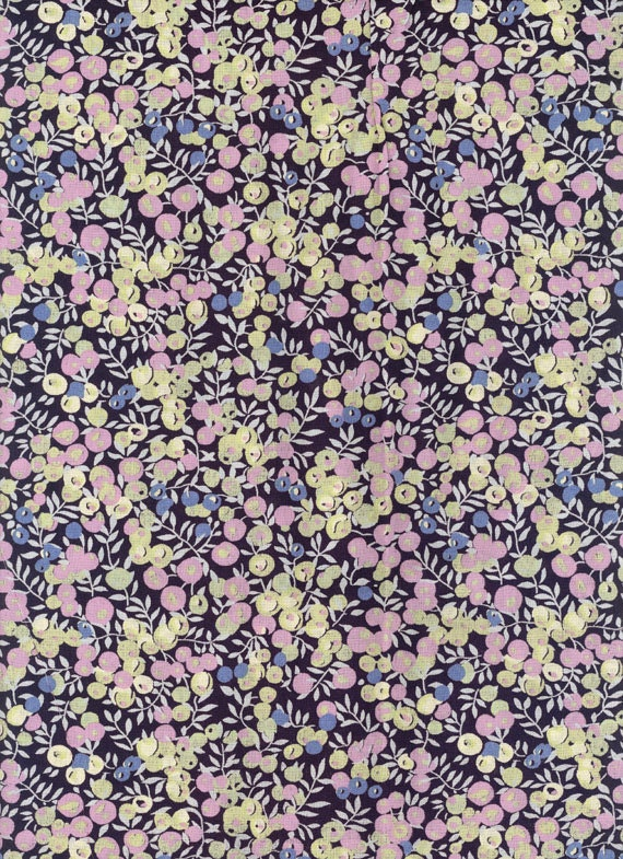 Liberty tana lawn fabric - Wiltshire Berry - 6x27 - fabric liberty