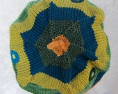 Morgan Beret Hand Knit in Soft Wools
