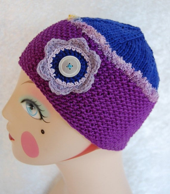 Delilah Beanie, Cotton / Rayon, Very Soft, Great All Year