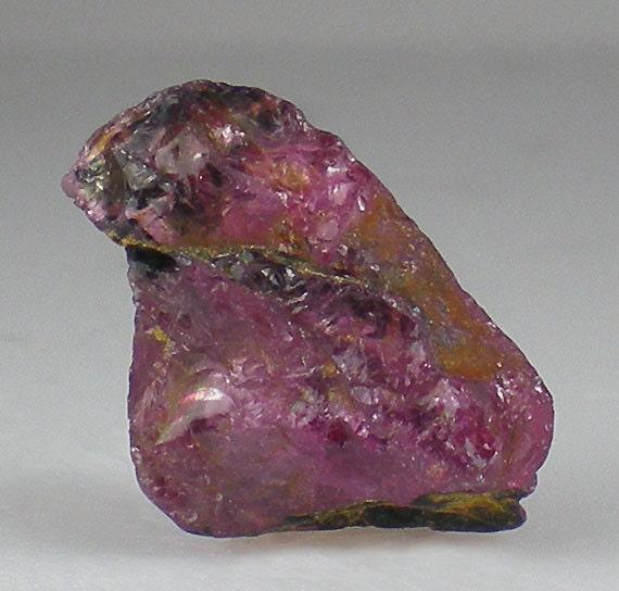 Pink Tourmaline Rough Crystal Gemstone