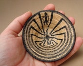 Lifepath Man in the Maze Native American Miniature Basket