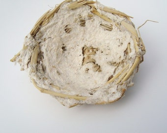 Bamboo Paper Nest Handwoven Basket