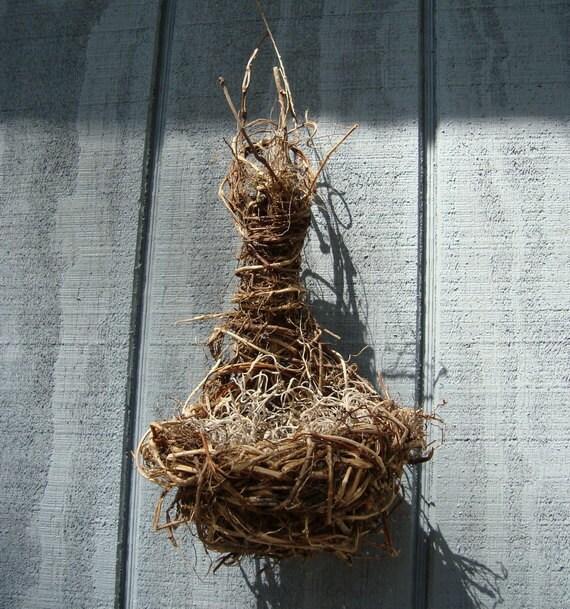 Springtime bird nest decor home decor birds by basketsbypamela for The nest home decor