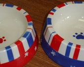 Patriotic Pet Dinnerware