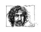 Frank Zappa Archival Print