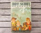 Vintage Boy Scout Handbook circa 1966