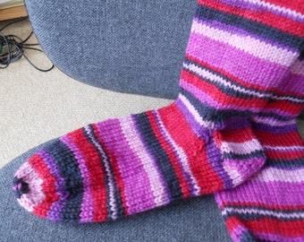 Ladies stripped socks