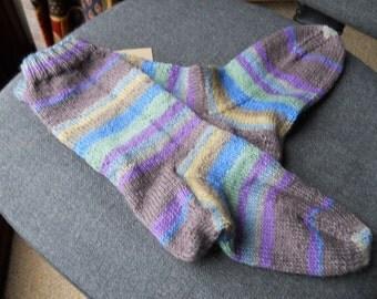 knitted ladies socks,/  adult knitted socks,/ men's knitted socks
