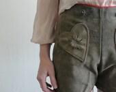 Heart in My Pocket ... Vintage Lederhosen