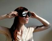 Oggle my Goggle .. Vintage Riding Glasses