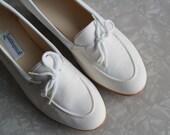 Vintage White Grasshoppers Shoes . Nurse Footwear