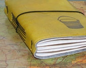 bucket list journal with vintage maps