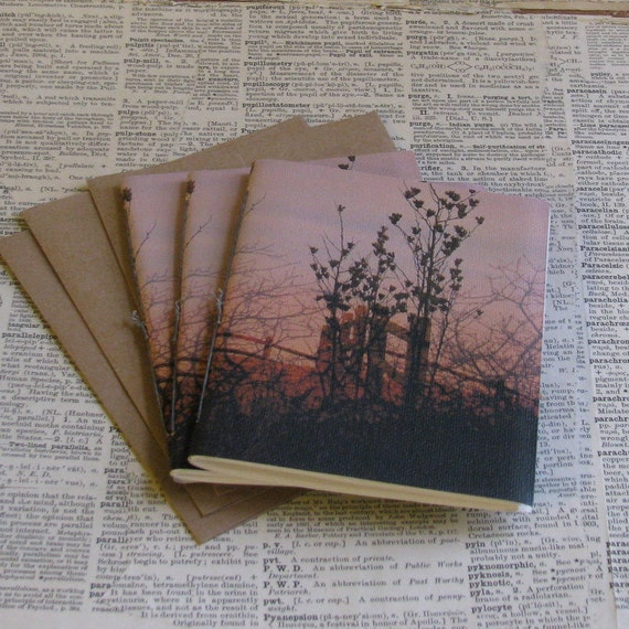 escape notebook pamphlet journal set of three
