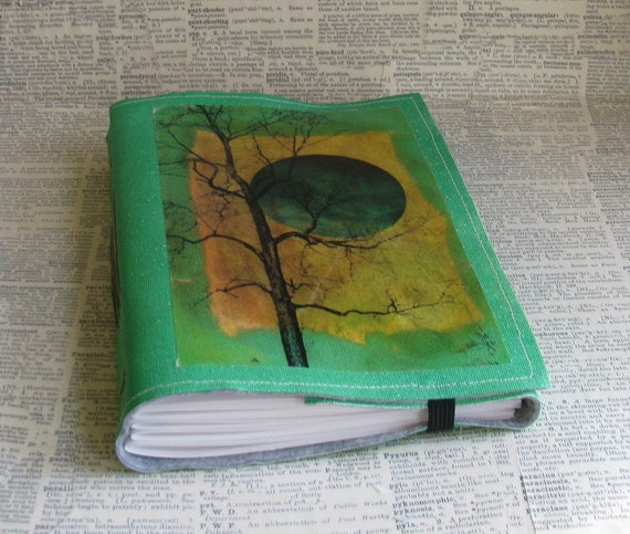 tree of free spirit tri fold journal mid size
