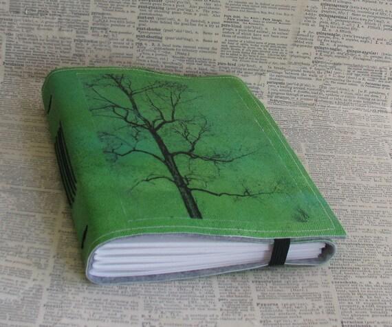 tree of free spirit tri fold journal mid size