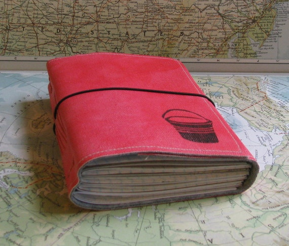 bucket list journal with atlas maps