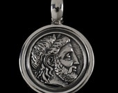 Philip of Mecedonia Pendant, B.C. Silver Collection    6412S