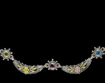 Crescent Necklace, Wildflower Collection        8105SXMXXXMP