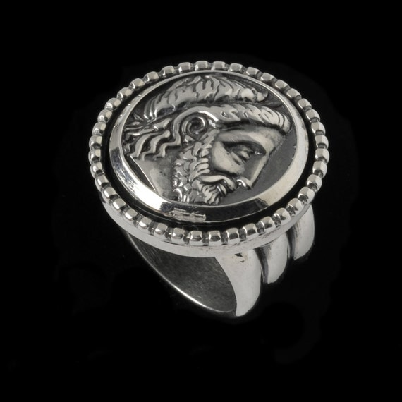 Philip of Macedonia Ring, B. C. Silver Collection          6502S