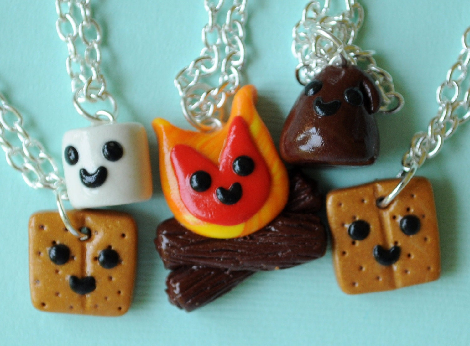 Kawaii 5 Way Smores And Campfire Best Friend By