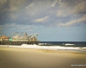 50% goes to Hurricane Sandy Victims- Casino Pier 8x10 Artistic Photography