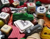 Let The Games Begin. Vintage Game Piece Pack