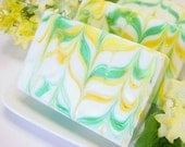 Honeysuckle Soap Handmade Cold Process Vegan Friendly Clearance