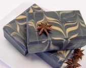 Star Anise and Activated Charcoal Soap Cold Process Fishermans and Hunters Soap Vegan Friendly