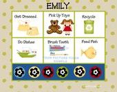 Chore or Activity Chart - Small Polka Dots