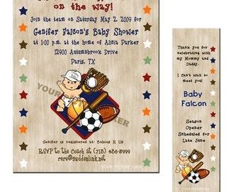 Baby Shower Invitations - Season Opener
