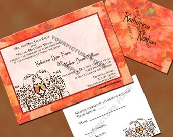 Wedding Invitations-Owl Always Love You