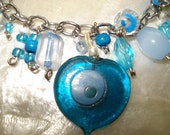 Protection from the evil eye charm bracelet