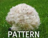 Snowdrop the White Hedgehog, Knitting Pattern (PDF)