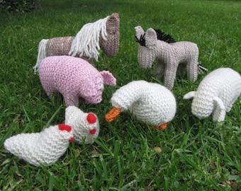 On Special, Knitted Farmyard, Merino Yarn