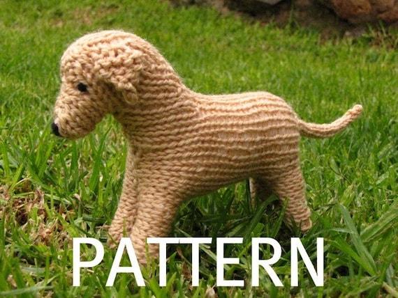 Labrador Dog Knitting Pattern (PDF)