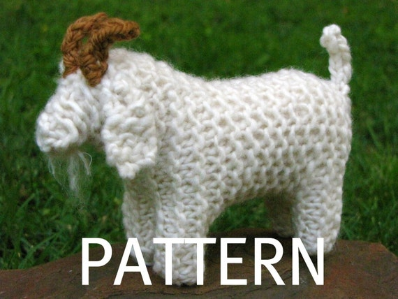 Goat Knitting Pattern (PDF)