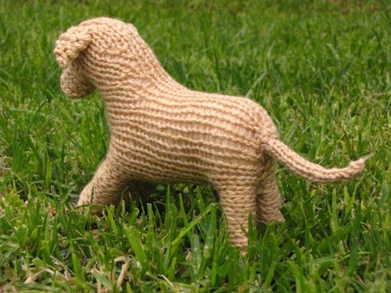 Knitting Needle Sizes South Africa : Labrador dog toy knitting pattern pdf from mamma earth
