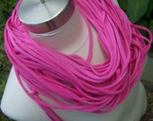 Loop-Tee-Do - Recycled Tee Shirt Necklace\/Scarf Large
