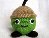 AARON the ACORN Pdf Crochet Pattern