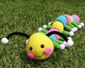 Pdf Crochet Pattern HARRY THE WORM