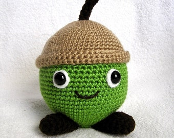 AARON the ACORN Pdf Crochet Pattern