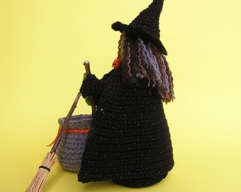 LITTLE WENDY WITCH Pdf Crochet Pattern