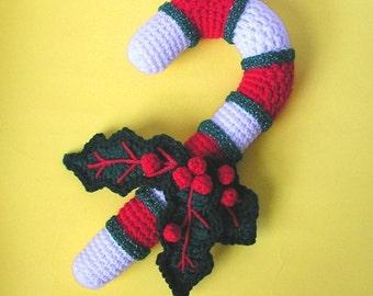 PDF Crochet Pattern CANDY CANE (English only)