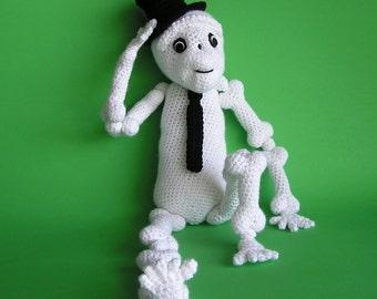 PDF Crochet Pattern SAMMY SKELETON