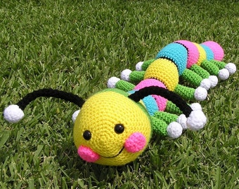Pdf Crochet Pattern HARRY THE WORM (English only)